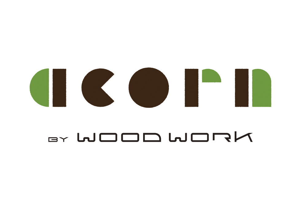 acorn by WOODWORK〈brand Logo〉