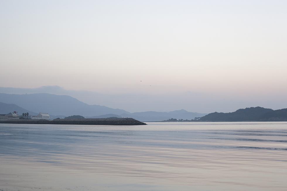 瀬戸内の海