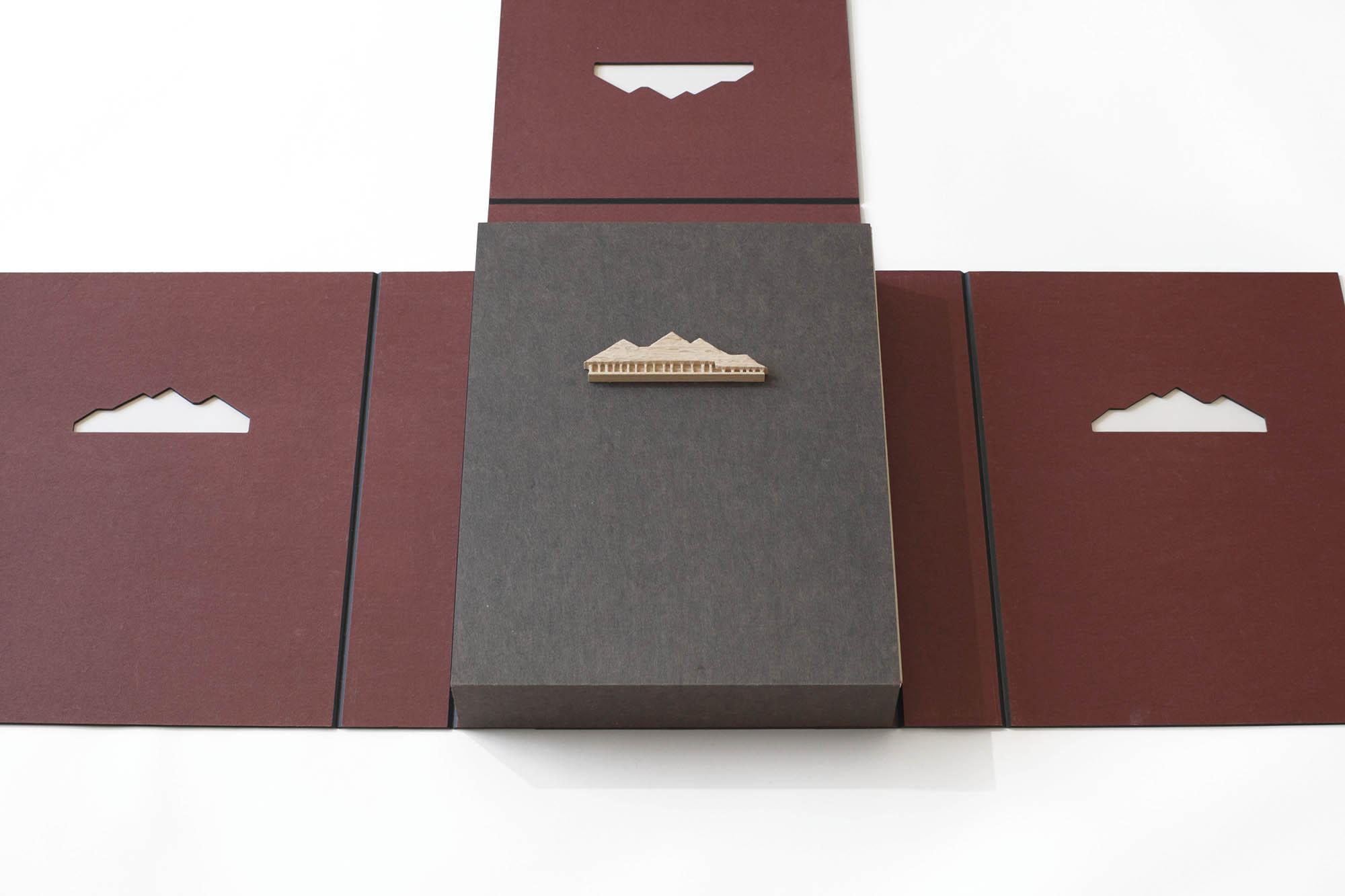 藤森照信作品集 La Collina2017 函 展開4